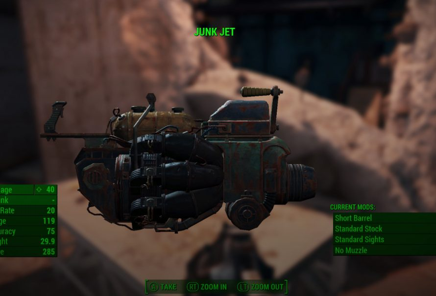 Fallout 4 Guide – How to Get The Junk Jet; Turns Junk into Ammo