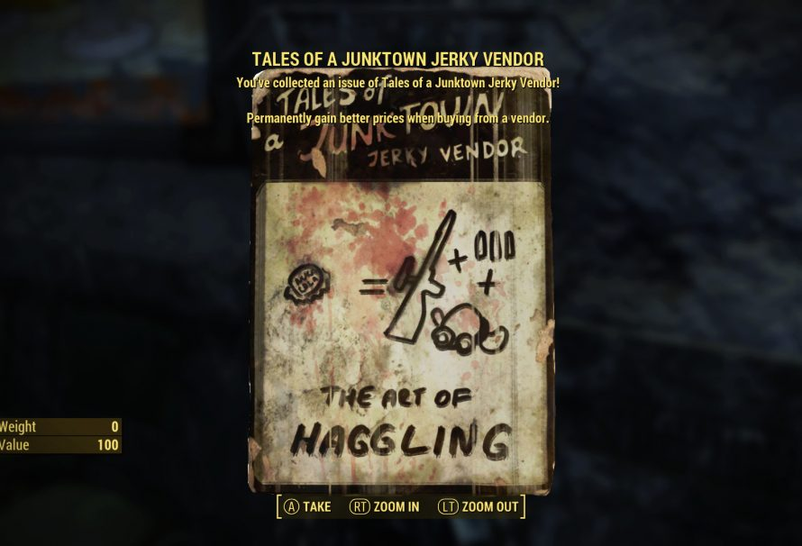 Fallout 4 Guide – Tales of a Junktown Jerky Vendor Magazine Locations