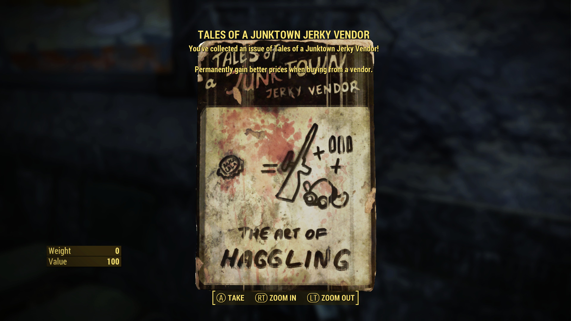 Fallout 4 Guide - Tales of a Junktown Jerky Vendor Magazine