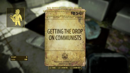 Fallout 4 US Covert Operations Manual