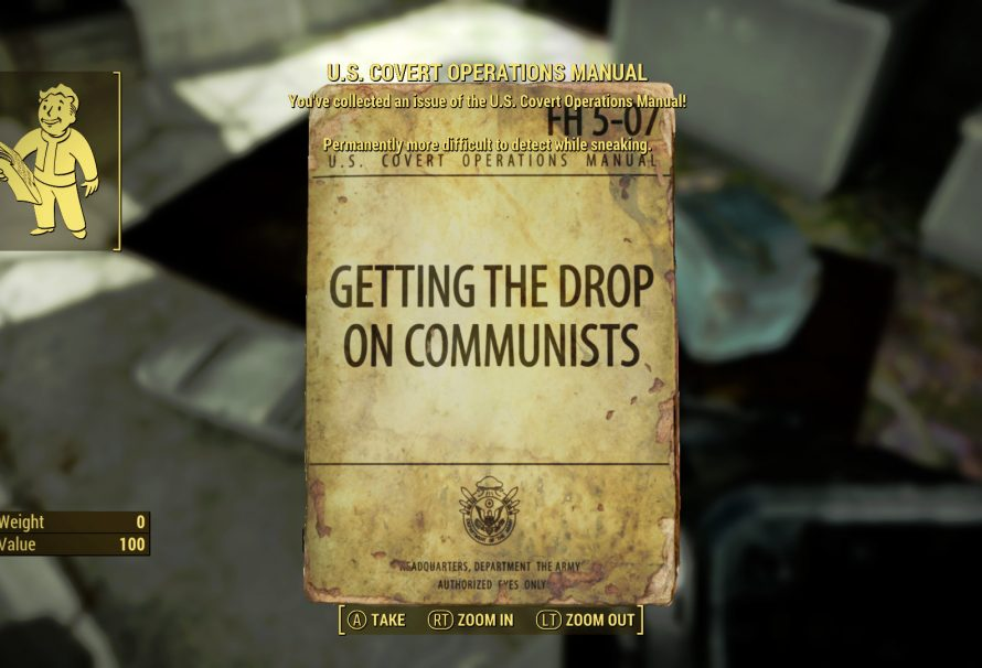 Fallout 4 Guide – U.S. Covert Operations Manual Locations
