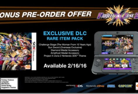 Project X Zone 2 pre-order bonuses detailed