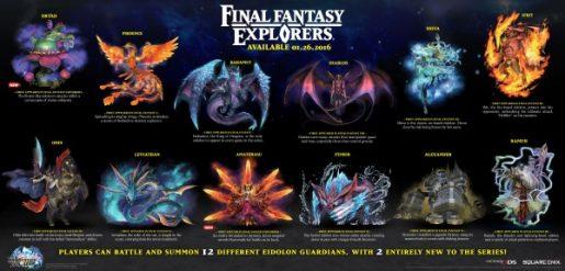 Final Fantasy Explorers Eidolons