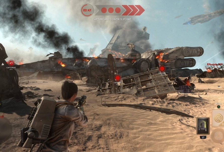 Star Wars Battlefront's Battle of Jakku DLC now available to all
