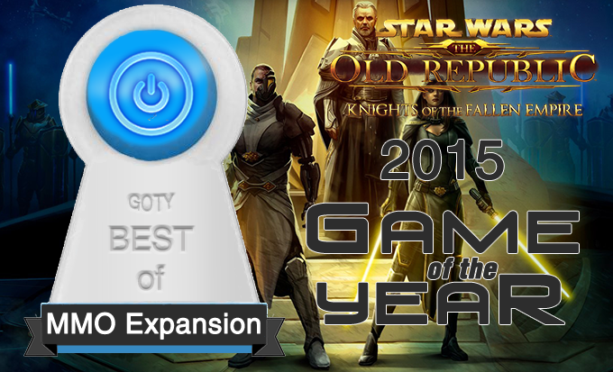Best MMO Expansion of 2015 – SWTOR Knights of the Fallen Empire