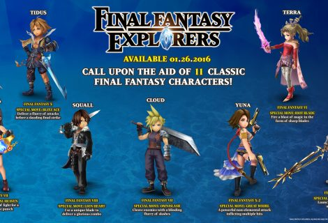 Square Enix Details Final Fantasy Explorers 11 Legacy Heroes
