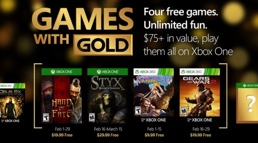 Games with Gold February 2016