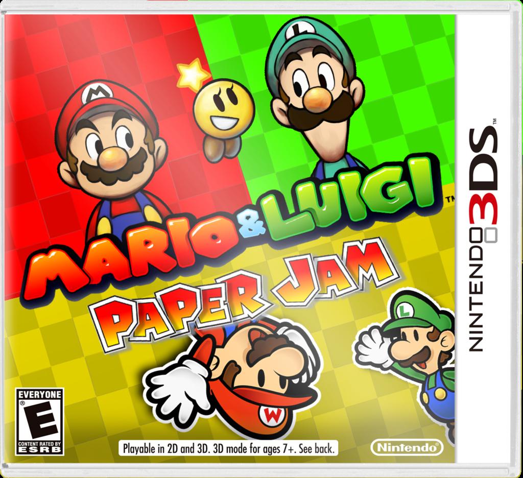 Mario Luigi Paper Jam Review Just Push Start
