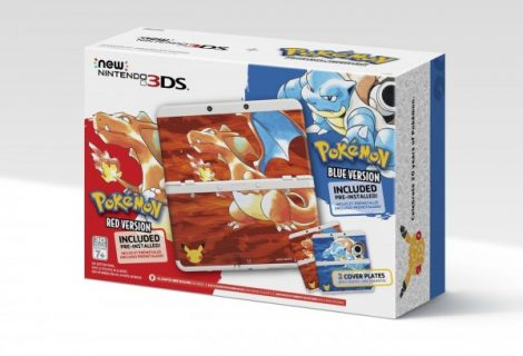 Classic Pokemon New 3DS and 2DS Bundles coming to North America and Europe