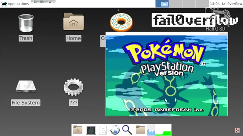 PS4 has been hacked to run Linux OS and play Pokemon