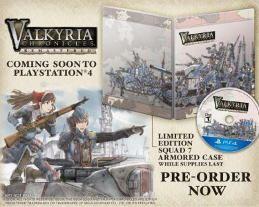 Valkyria Chronicles HD Case