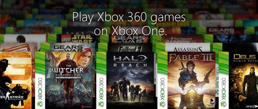 Xbox One Backwards Compatibility Games will be Released When Available