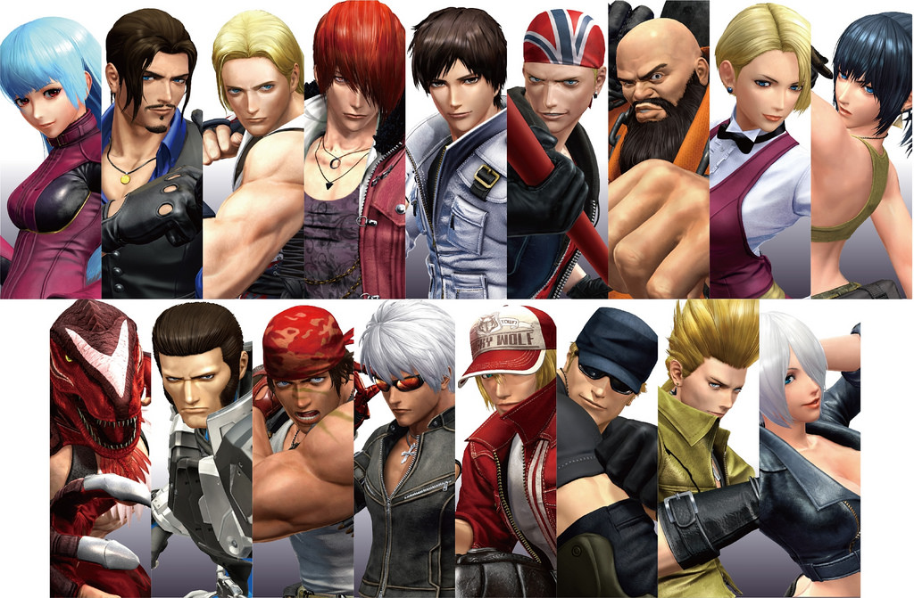 Four New Characters Announced For The King Of Fighters Xiv