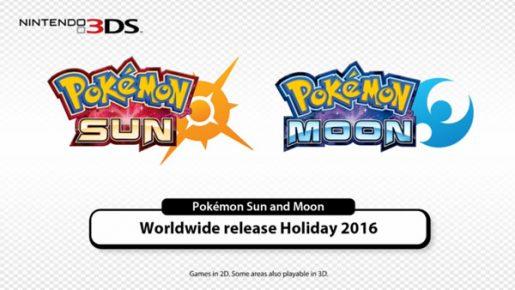 Pokemon Sun and Pokemon Moon