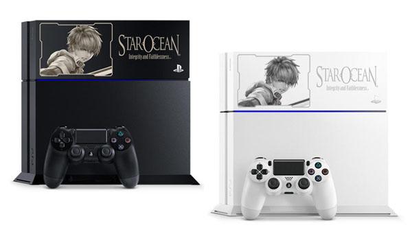 Star Ocean 5 Playstation 4 Model Announced For Japan