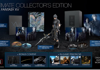 Final Fantasy XV Releases on September 30; Collector's Edition Announced