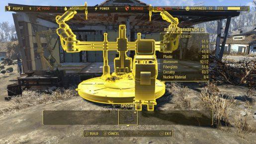 Fallout 4 Automatron Bench 01