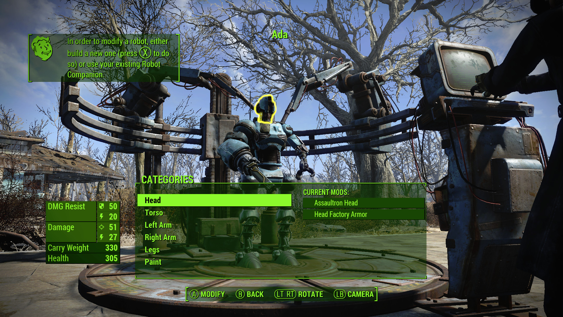 Wondrous Fallout 4 Automatron Dlc Guide Creating Your Own Robot Caraccident5 Cool Chair Designs And Ideas Caraccident5Info