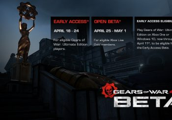 Gears of War 4 Multiplayer Beta Dated