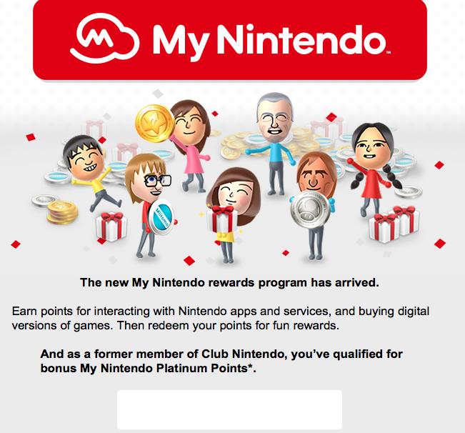 Nintendo is Giving Previous Club Nintendo Members Free My Nintendo Coins