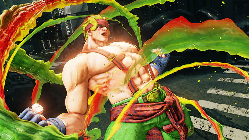 Street Fighter V adds Challenge Mode and Alex next week