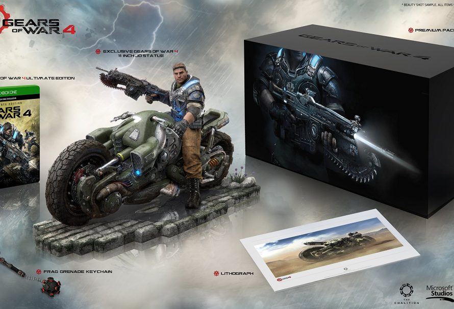 Gears of War 4 Collector's Edition Announced