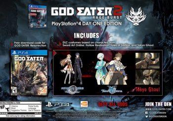 God Eater: Resurrection and God Eater 2 release dates announced; Pre-Order Bonus Detailed