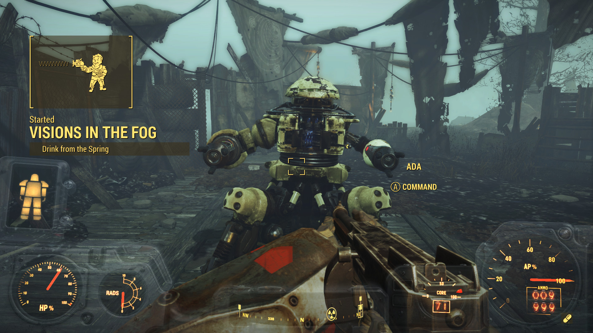 Fallout 4 Far Harbor Dlc Visions In The Fog And Joining The