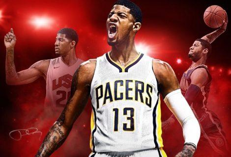 NBA 2K17 Cover Athlete Is Paul George