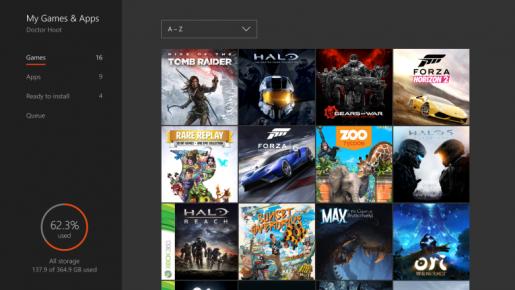Xbox One Dashboard Update Summer