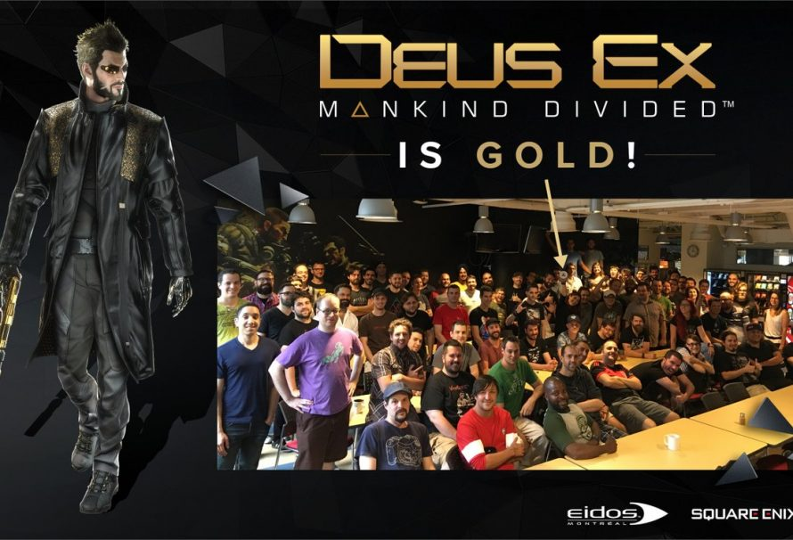 Deus Ex: Mankind Divided Has Gone Gold