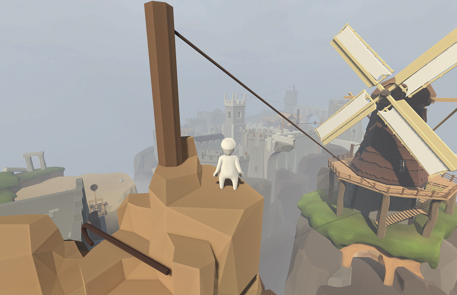 Surreal Puzzle Title Human: Fall Flat Lands On PC Today