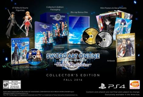 Sword Art Online: Hollow Realization Collector's Edition Announced
