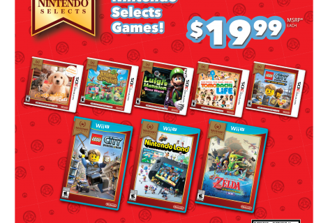 New Nintendo Selects for Wii U and 3DS discounted to $19.99