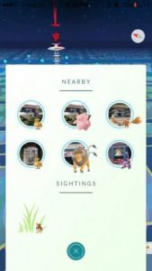 Pokemon go tracker