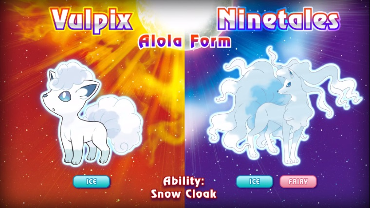 Classic Pokemon Get New Forms In Pokemon Sun And Moon