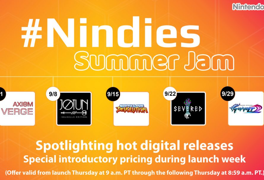 Nintendo eShop: Nindies Summer Jam discounts upcoming indie Wii U/3DS releases