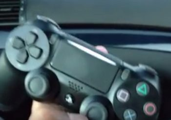 The New PS4 Slim DUALSHOCK 4 Controller Flashes Lightbar At The Front