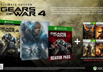 Gears of War 4 Steelbook Edition Listed By Amazon