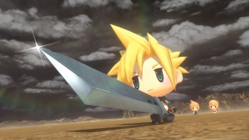 World of Final Fantasy – Best Early Experience Farming Location