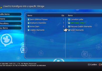 World of Final Fantasy Guide- Mirage Mementos Location
