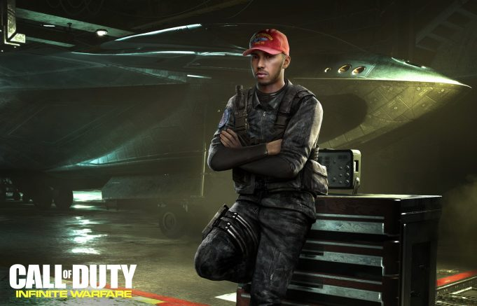 F1 Racer Lewis Hamilton Is In Call of Duty: Infinite Warfare