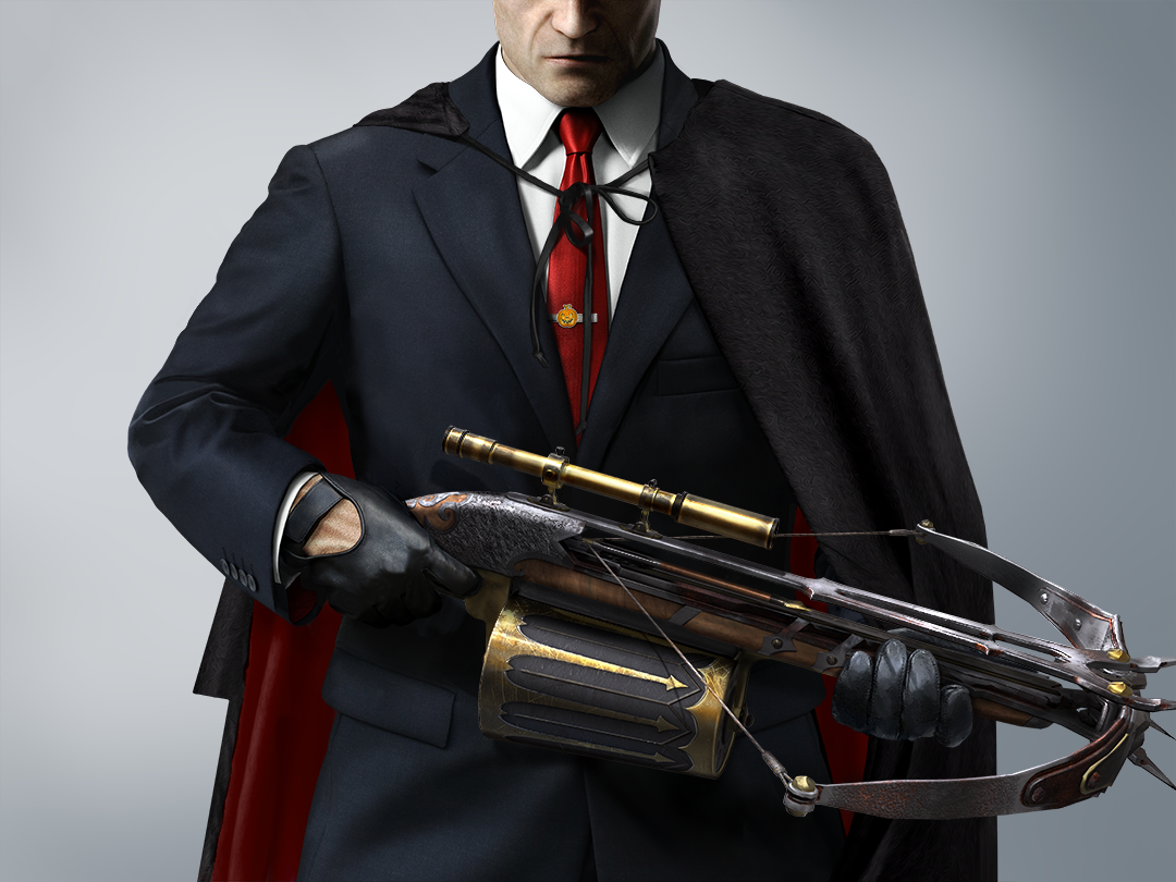 hitman sniper halloween update adds ghosts exorcist crossbow