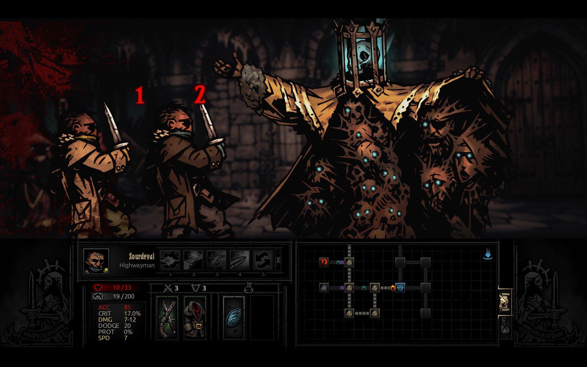 Darkest Dungeon Review - Just Push Start