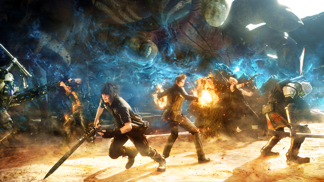 Final Fantasy XV 9GB Patch 1.02 Detailed