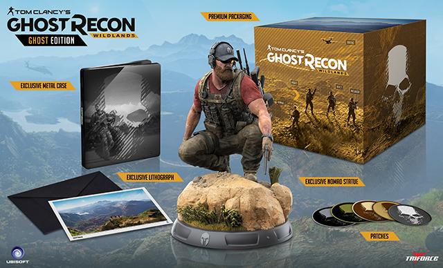 Gamestop Reveals Ghost Recon: Wildlands Collector's Edition