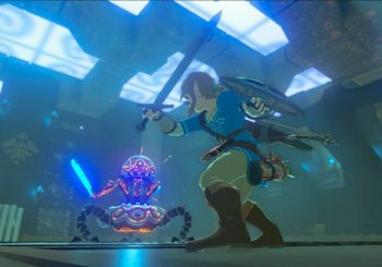Zelda: Breath of the Wild Screenshot Shows New Enemy Against Link