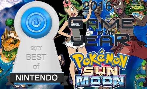 Best Nintendo Game 2016 - Pokemon Sun and Moon