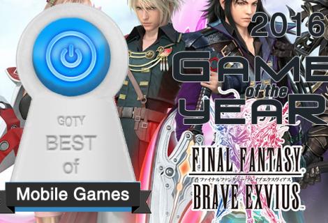 Best Mobile Game of 2016 - Final Fantasy Brave Exvius