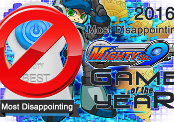 Most Disappointing Game of 2016 - Mighty No. 9